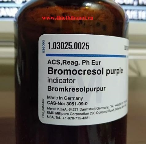 Bromocresol purple, Hãng Merck