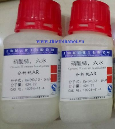 Cerium(III) nitrate hexahydrate, Ce(NO3)3.6H2O